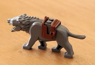WARG - DARK GREY - GENUINE LEGO - from The Hobbit Lego set 79002