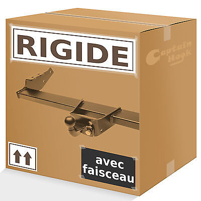 Attelage rigide fixe Renault Trafic 2001-2014 + faisceau 13 broches