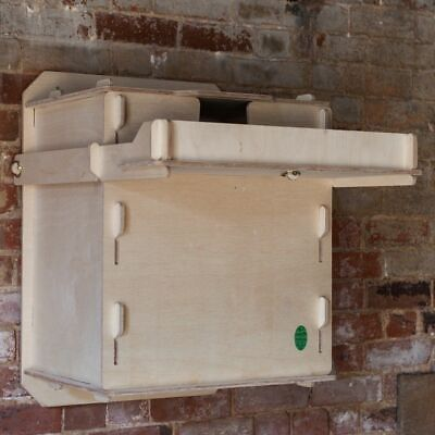 Wooden Interior Barn Owl Nest Box, Self Assembly