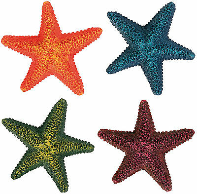 x1 Mini Starfish Decoration Ornament for Aquarium Fish Tank Goldfish Bowl BiOrb