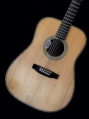 Custom Luthier Made Dreadnought Acoustic Guitar Adirondack Spruce Rosewood HD28!