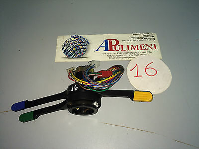 "42030 DEVIO LUCI TURN INDICATOR SWITCH FIAT 132 2,0 78"" MARRONE"