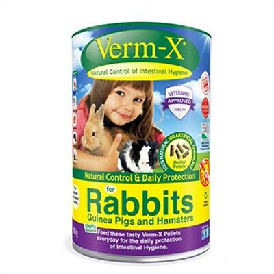 Verm-x Nuggets For Rabbits and Small Pets 180g • EUR 11,75