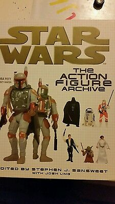1999 Star Wars  THE ACTION FIGURE ARCHIVE - Great Used Condition - HARDBACK BOOK