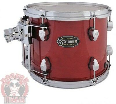 X-DRUM PRO-STAGE Tom PM2-TT1209-RD COLORE ROSSO