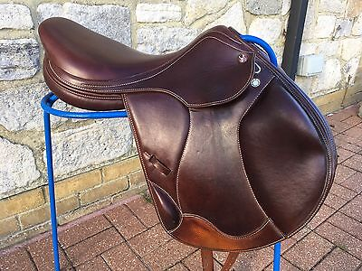 Prestige Paris K Jumping Eventing Saddle 17/33 Medium