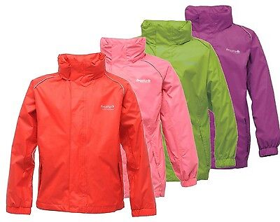 Regatta Fieldfare Girls Lightweight Waterproof Breathable Jacket