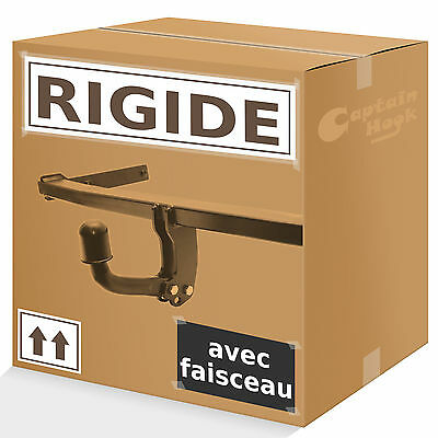 Attelage rigide fixe Jeep Grand Cherokee WH 2005/2011 + faisceau 7 broches
