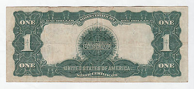 Circulated 1899 $1 Silver Certificate--Elliot/White, Free Priority Shipping