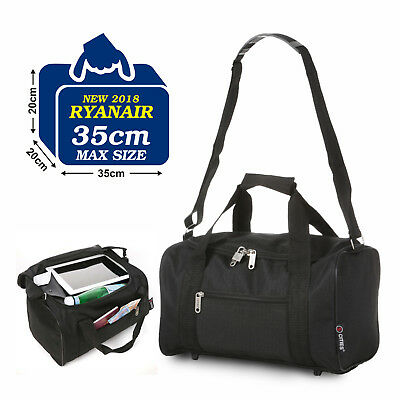 Ryanair Additional 2nd Hand Cabin Luggage Small Extra Bag 35x20x20cm Bags BLACK
