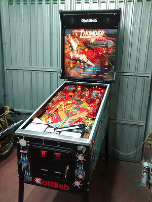 Pinball Flipper Operation Thunder Gottlieb Premier - Vintage - 100% Ok