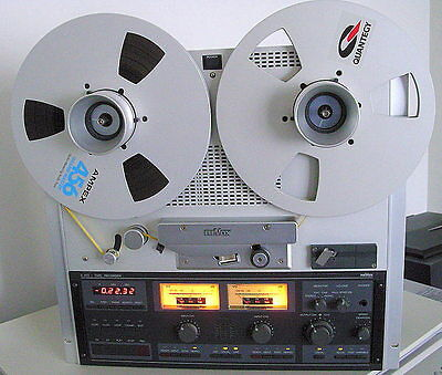 "ReVox Studer C270 2-Track 1/4"" Master Recorder With NAB Adapters & Spool"