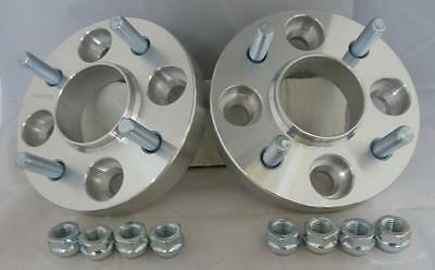 Ford Fiesta Mk7 2008 on 4x108 20mm ALLOY Hubcentric Wheel Spacers 1 Pair