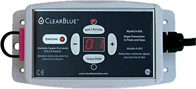 "ClearBlue Ionizer-40,000 Gal, 120v, electrodes, test kit & PVC Tee-2"" / 1 1/2"""