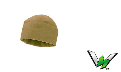 Coyotee Brown Military Polartec Micro Fleece Cap Polartec Hat