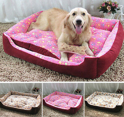 New Dog Bed Warm Pet Mat Puppy House Washable Cat Nesting Bed Cushion XXS-XL