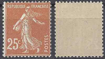 France Timbre Type Semeuse N°235 Neuf ** Gomme D'origine Mnh