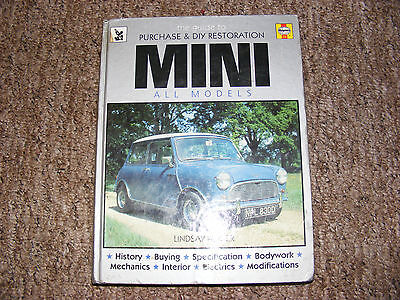 Mini The Guide To Purchase & D.i.y Restoration Haynes Manual  Lindsay Porter