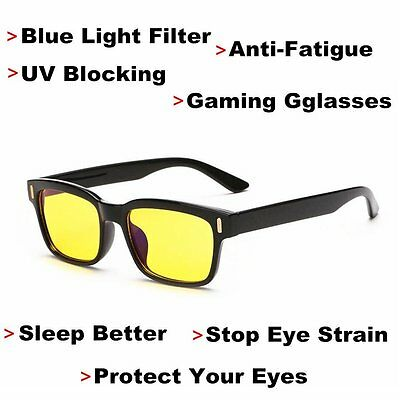 Stop Eye Strain Vizion Gaming Glasses-Blue Light Blocking & Anti-Fatigue Eyewear