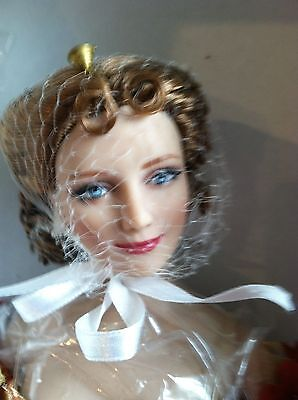 """Tonner Gone with the Wind BELLE WATLING 16"""" Vinyl DOLL in Dress Ensemble +Stand"""