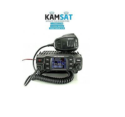 CB MOBILE RADIO MULTI STANDARD CRT 2000 AM FM 4W 40 Programming Cable & Software