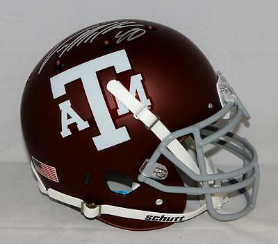 Von Miller Autographed Texas A&M Aggies Maroon Authentic F/S Helmet- JSA W A