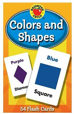Colors and Shapes Brighter Child Flash Cards Educational Learning Kids Enjoyable