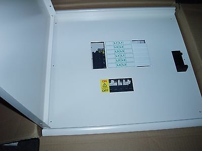 Schneider Electric 4 Way Tp+N Distribution Board Acti 9 Isobar Sea9Bn4