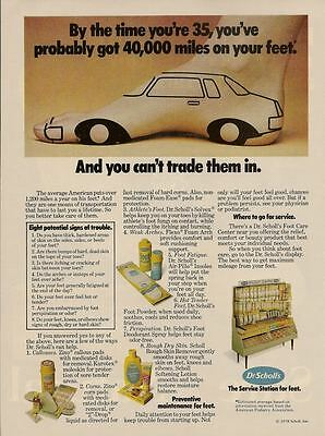 Dr. Scholl's Products 1980 Magazine - Print Ad