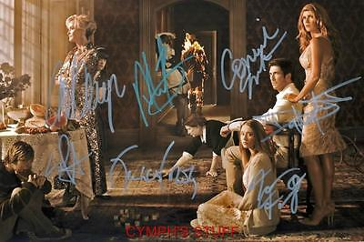 American Horror Story Cast Of 7 Signed Autograph Reprint #2