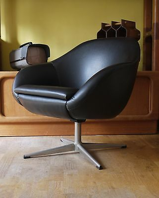 Overman swivel chair. Vintage retro. 60s 70s