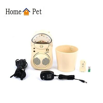 HomePet Outdoor Ultrasonic Dog Repeller Device With Night Lite