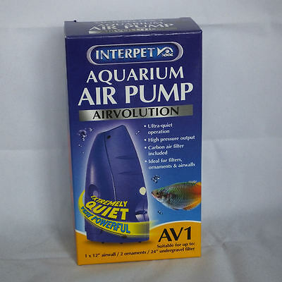 Interpet Airvolution Aquarium Air Pump AV1
