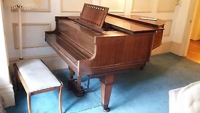 John Broadwood & Sons Grand Piano c 1920