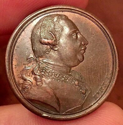 George III Bronze Medal, 1773. By Kirk. 25mm.