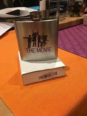 ABBA - The Movie Laser Engraved Stainless Steel 6oz Hip Flask