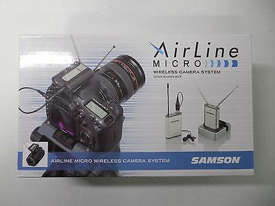 Samson Airline Micro Camera Mountable Wireless Lavalier Microphone System