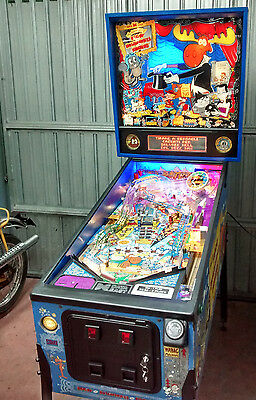 Pinball Flipper Rocky Bullwinkle  And Friends Data East 100% Super Led Mod