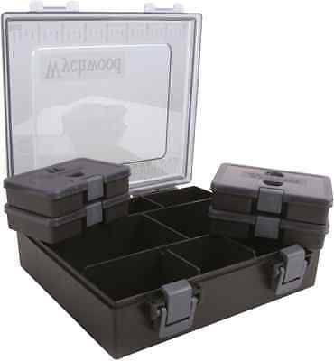Wychwood Carp & Coarse Fishing NEW Tackle Box Complete Medium