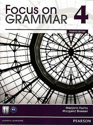 Pearson FOCUS ON GRAMMAR 4 Fourth Edition with MP3 Audio CD-ROM @NEW@