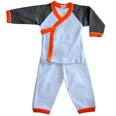 Loralin design BW6 Boy Wrap Outfit, 6-12 Mesi