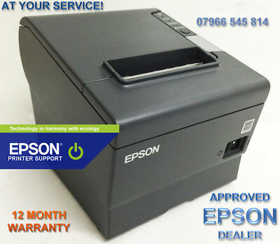 Immaculate  Epson Tm T88 V M244 + 12 Month Warranty Usb & Serial Card + Psu