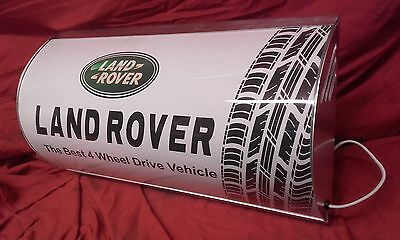 Land rover,series,4x4,defender,off roadmancave,light up sign,garage,workshop,car
