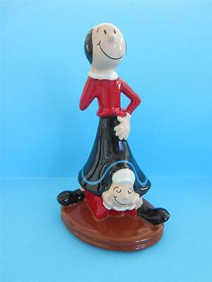 WADE BLOW UP OLIVE OYL & SWEE' PEA CARTOON FROM POPEYE SERIES *Mint Condition*