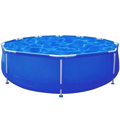 # 12ft 360cm Above Ground Swimming Pool Filter Pump Round Inflatable Metal Frame