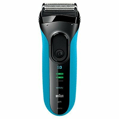 Braun Series 3 3040 Men s Electric Foil Shaver, Wet and Dry, Rechargeable and Co