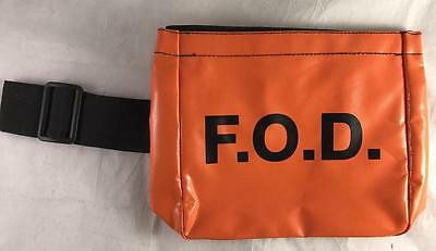 NEW F.O.D. Orange Bag Boeing Foreign Object Debris FOD