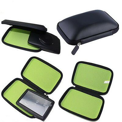 Hard Carry Case Cover Car Sat Nav Holder For GPS TomTom Start Garmin E5