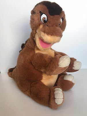 SOFT Vintage 90s Large 17 In Land Before Time Plush Little Foot Dinosaur