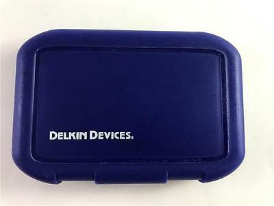 NEW Delkin Devices 8 CF Memory Card Compact Flash Blue Case